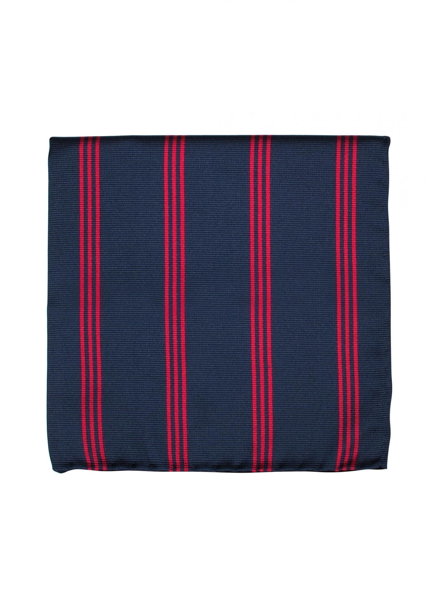 navy red stripe pocket square n sdukar accessoarer. Black Bedroom Furniture Sets. Home Design Ideas