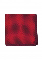 RED STAR POCKET SQUARE