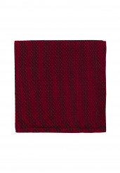 RED GRENADINE POCKET SQUARE