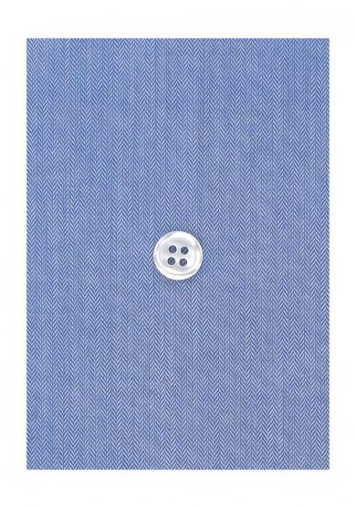 BLUE HERRINGBONE TWILL