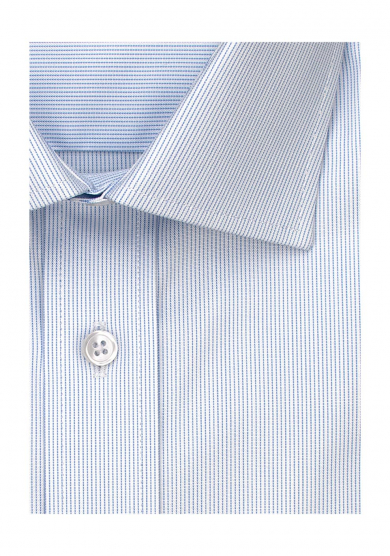 LIGHT BLUE STRIPE PINPOINT OXFORD