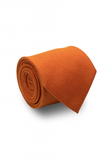 ORANGE SOLID TIE