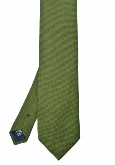 GREEN SOLID TIE
