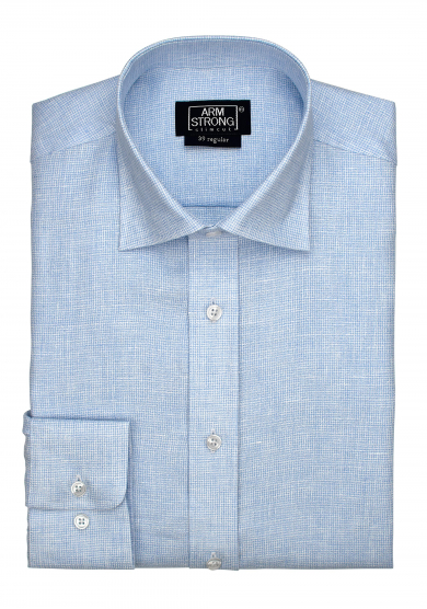 LIGHT BLUE TEXTURE LINEN