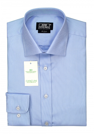 ECO LIGHT BLUE OXFORD