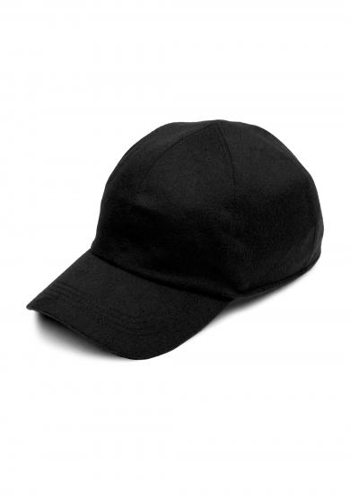 BLACK LORO PIANA CASHMERE CAP