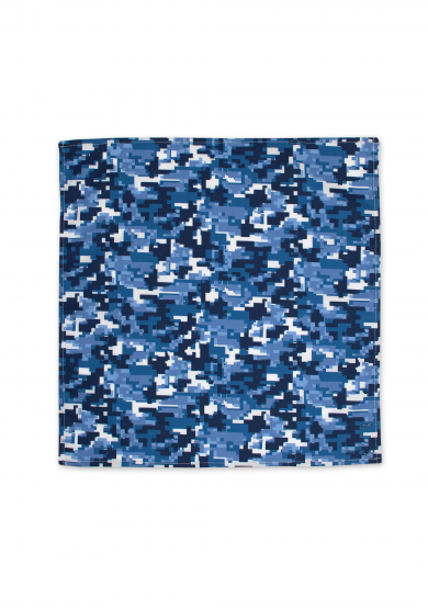 CITY CAMOUFLAGE POCKET SQUARE