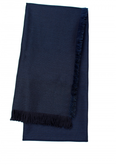 DARK NAVY GLITTER STRIPE SCARF