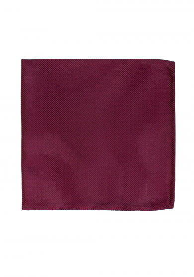 DARK RED TEXTURE POCKET SQUARE