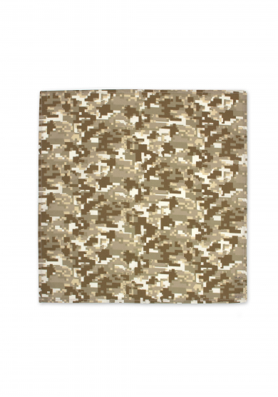 DESERT CAMOUFLAGE POCKET SQUARE
