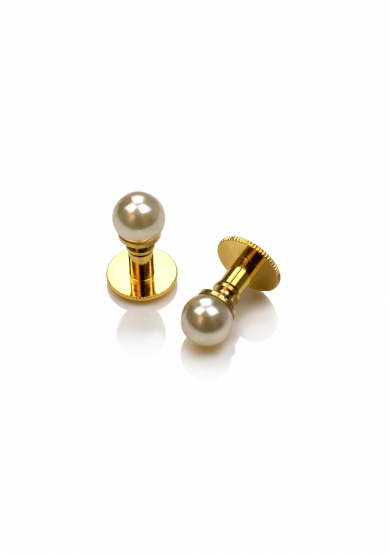 PEARL GOLD SHIRT STUD