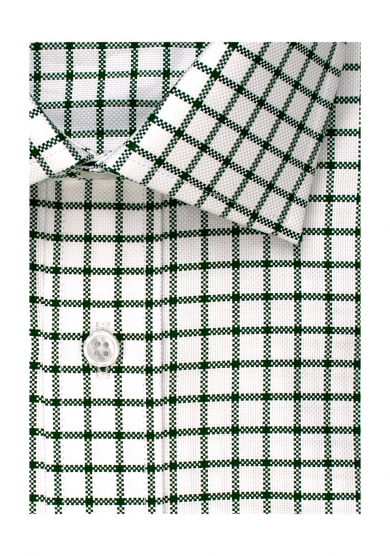 GREEN CHECK OXFORD