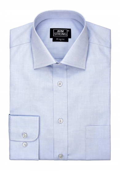 LIGHT BLUE PINPOINT OXFORD