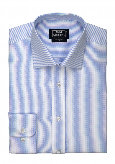 LIGHT BLUE STRIPE OXFORD