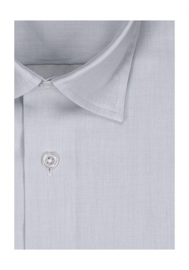 LIGHT GREY COTTON CASHMERE TWILL
