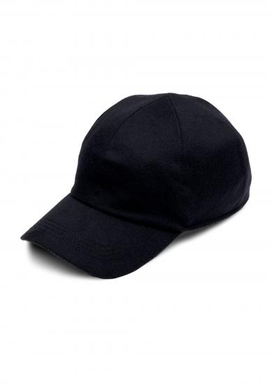 NAVY LORO PIANA CASHMERE CAP