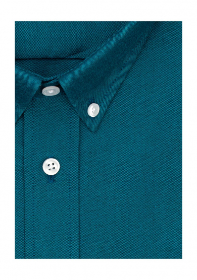 PETROL BLUE OXFORD