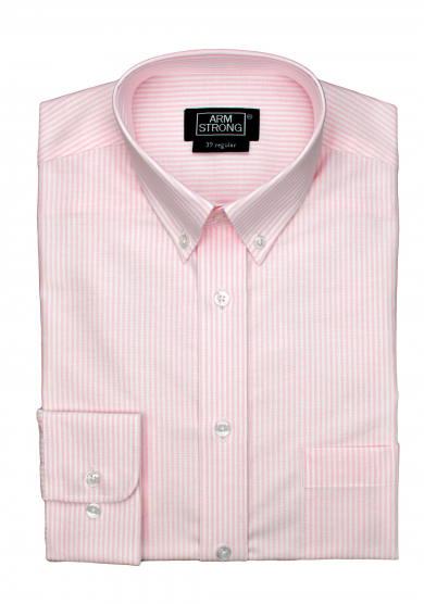 PINK STRIPE OXFORD