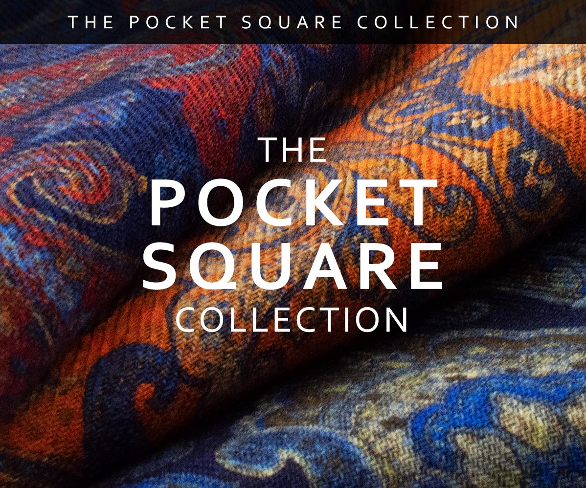The Armstrong Pocket Square Collection
